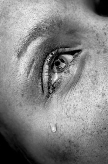 crying eye by starush