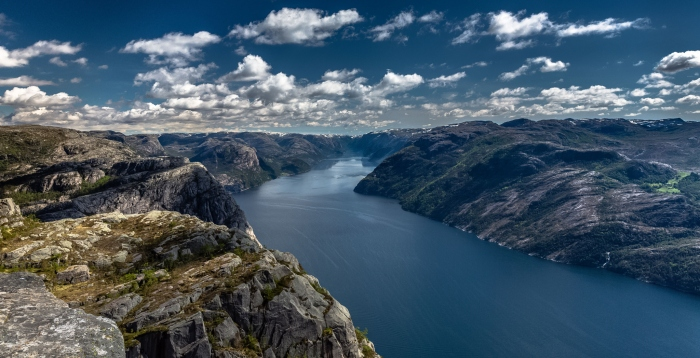 Preikestolen, Lysefjord, Norway by Europe Trotter
