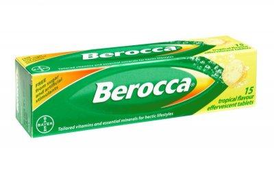 C sủi Berocca có chứa nhiều loại vitamin và khoáng chất khác nhau. Không rõ giá bao nhiêu ở Việt Nam nhưng chắc không tới 100 nghìn đâu. Rất tốt nhé :D