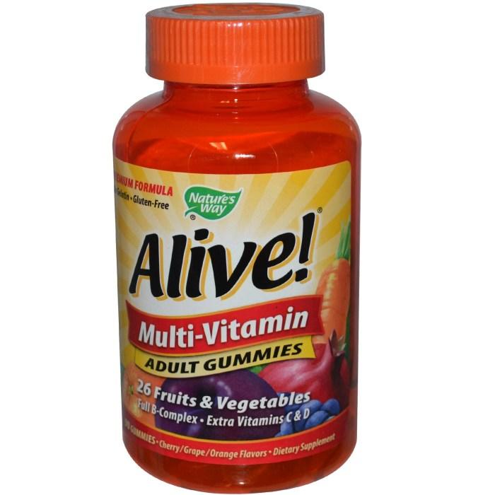 Đây là thuốc vitamin tổng hợp (đầy đủ tất cả các loại vitamin và khoáng chất, tuy nhiên mỗi loại lại không có liều lượng cao, chuyên biệt như những loại mình giới thiệu ở trên) đầu tiên ở dạng kẹo dẻo. Rất, rất thơm và ngon. Giá cũng tạm ổn, khoảng 13USD cho 90 viên