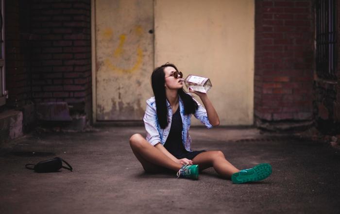 Drunk girl by Андрей Бро