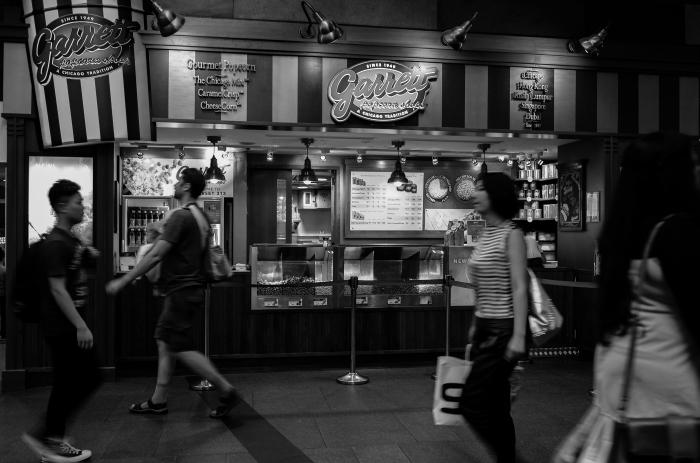 Garrett popcorn shop by KL.
